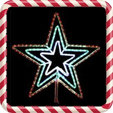 LED Stars- Tree Toppers