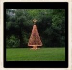 10' PVC Christmas Tree Kit (12' Tall when you add a Star)