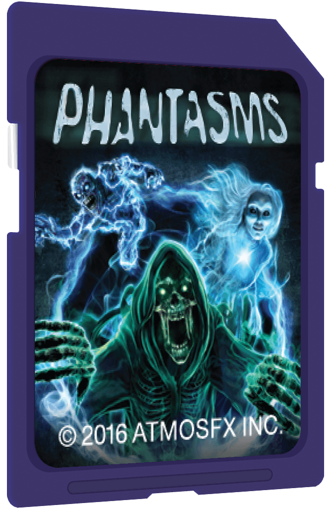 AtmosfearFX Phantasms On SD Media Card
