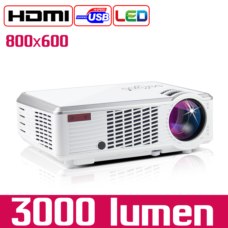 3000 Lumen LED Video Projector
