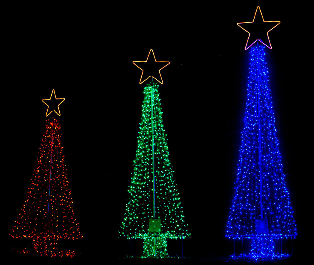 5 Foot Diameter All Metal Outdoor Christmas Tree Base