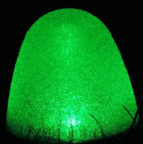 "8"" Tall Gumdrop Sugar Coated Pathway LED Light Set of 10 with Stakes"