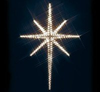 Holy Star Nite-Lite wood Pattern