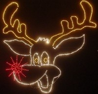 Rudy The Talking Reindeer Sign