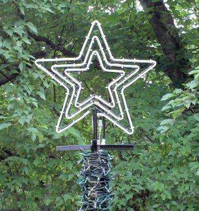 "24"" Star Flare - 3 Channel (with incandescence rope light kit)"