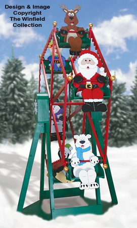 Holiday Ferris Wheel Woodworking Plans
