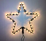 "18"" Star kit with 40 incandescence mini lights"