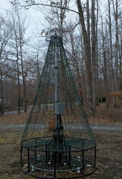 10 Pvc Christmas Tree Kit 12 Tall With A Star