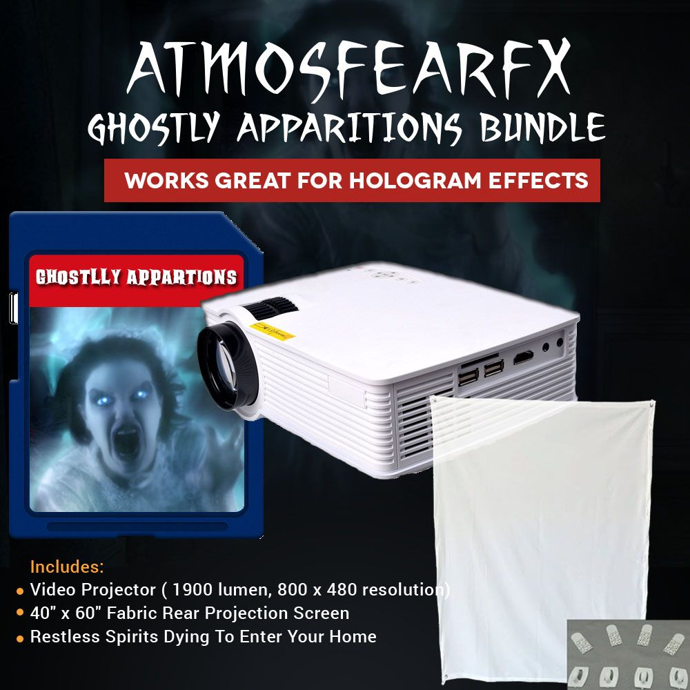GHOSTLY APPARITIONS Video Projector Kit