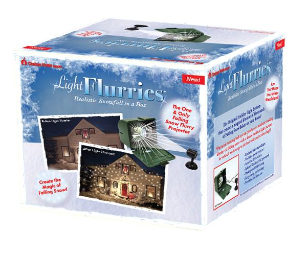light flurries snowflake projector. Black Bedroom Furniture Sets. Home Design Ideas
