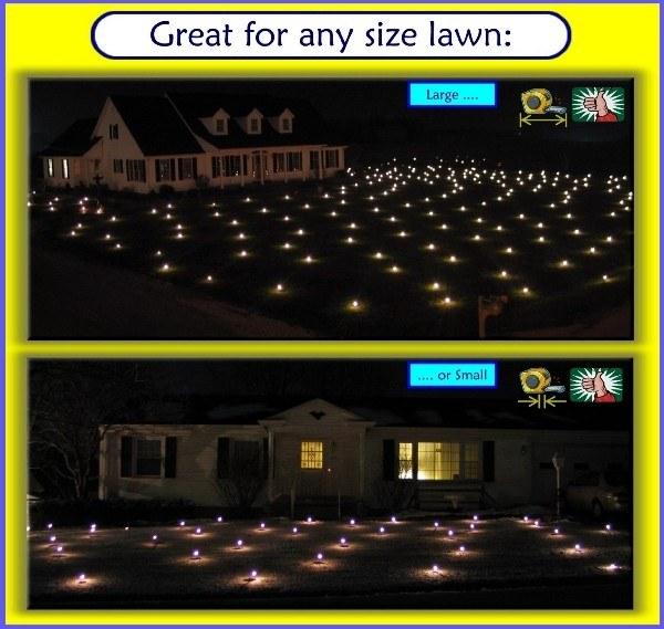 Lawn Lights for your Christmas display