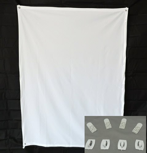 Translucent Fabric Projection Screen