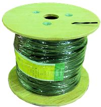 SPT-1  18AWG Wire 1000 feet (10 Amps, Green)