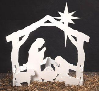 nativity scene wood patterns